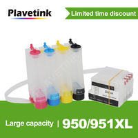 Plavetink For HP 950 XL CISS Ink Tank System For HP Officejet Pro 251dw 276dw 8100 8600 Printer With Reset Chip