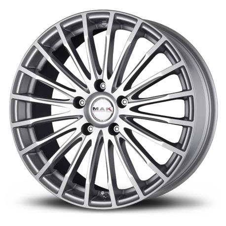 RIMS Fatale Mirror MAK 8.00x18 5X112 ET50 bushing 57.1|Tire Accessories| |  - title=