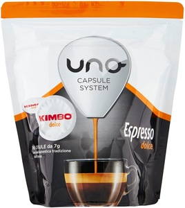 Kimbo coffee Capsules Compatible system capsules ONE-Expressed Sweet (6x16 capsules)