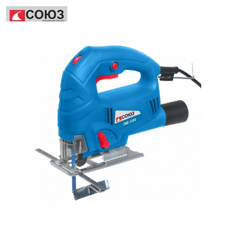LBS-4065 Electric jigsaw UNION, 650 W, 70/8 mm (wood /metal), frequency adjustment Multi-functional Cutter Steel Saw Webs jigsaw jigsaw electric vihr le 55