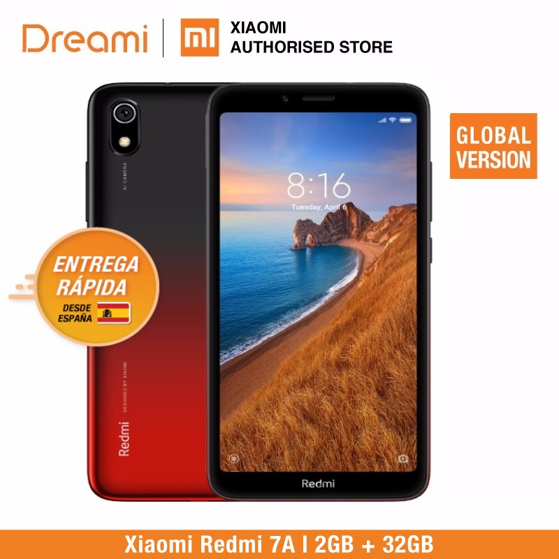 Global Version Xiaomi Redmi 7A 32GB ROM 2GB RAM (Brand New and Sealed) 7a 32gb