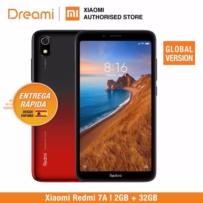 Versión Global Xiaomi Redmi 7A 32GB ROM 2GB RAM (Nuevo y Sellado) 7a32