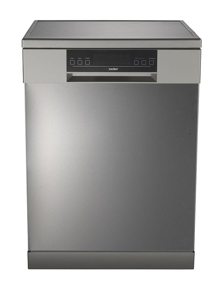Dishwasher 60 Cm Sauber Sdw61I A + + 15 Cutleries Inox 3¦ Tray