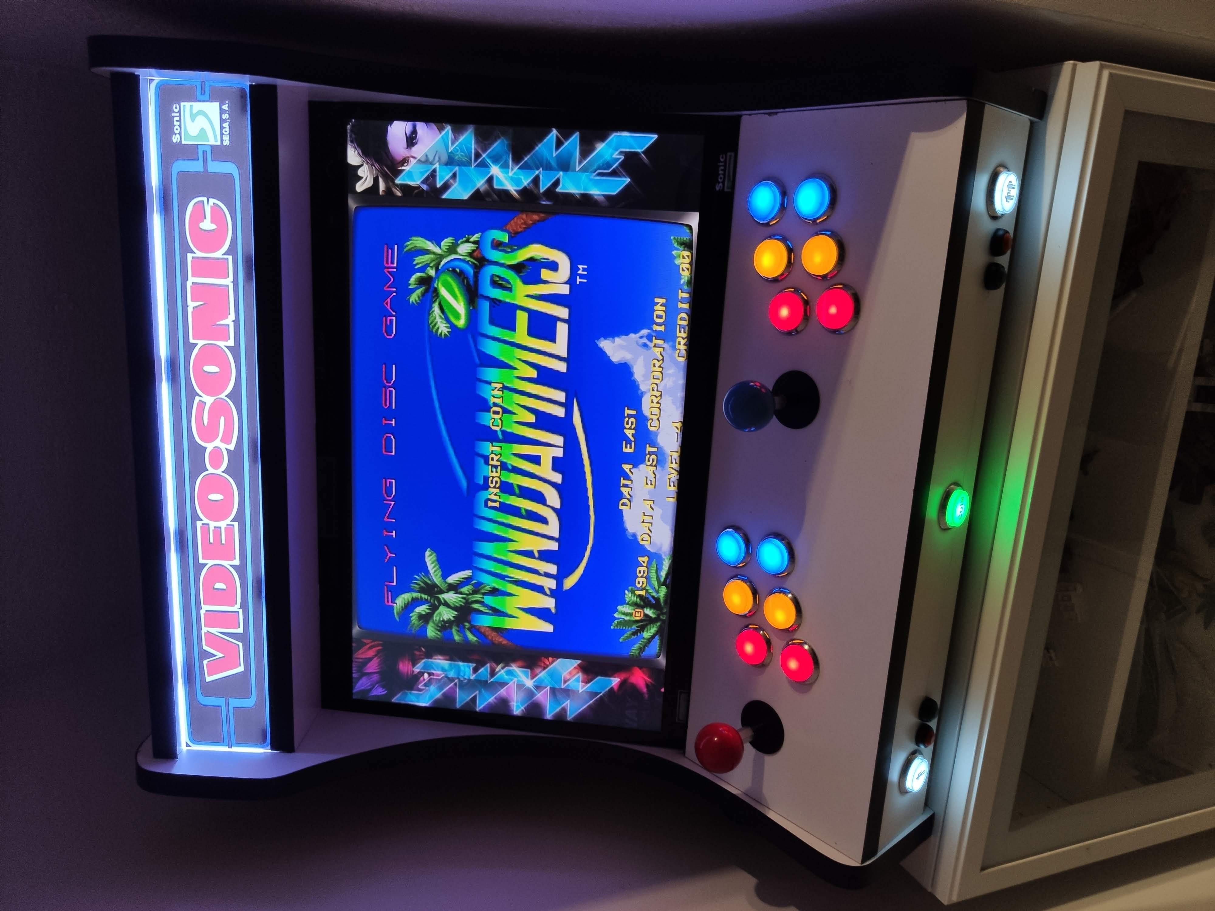 -- Atraso Arcade Gabinete
