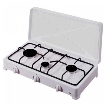 gas stove Vitrokitchen 300BB White (3 Stoves)