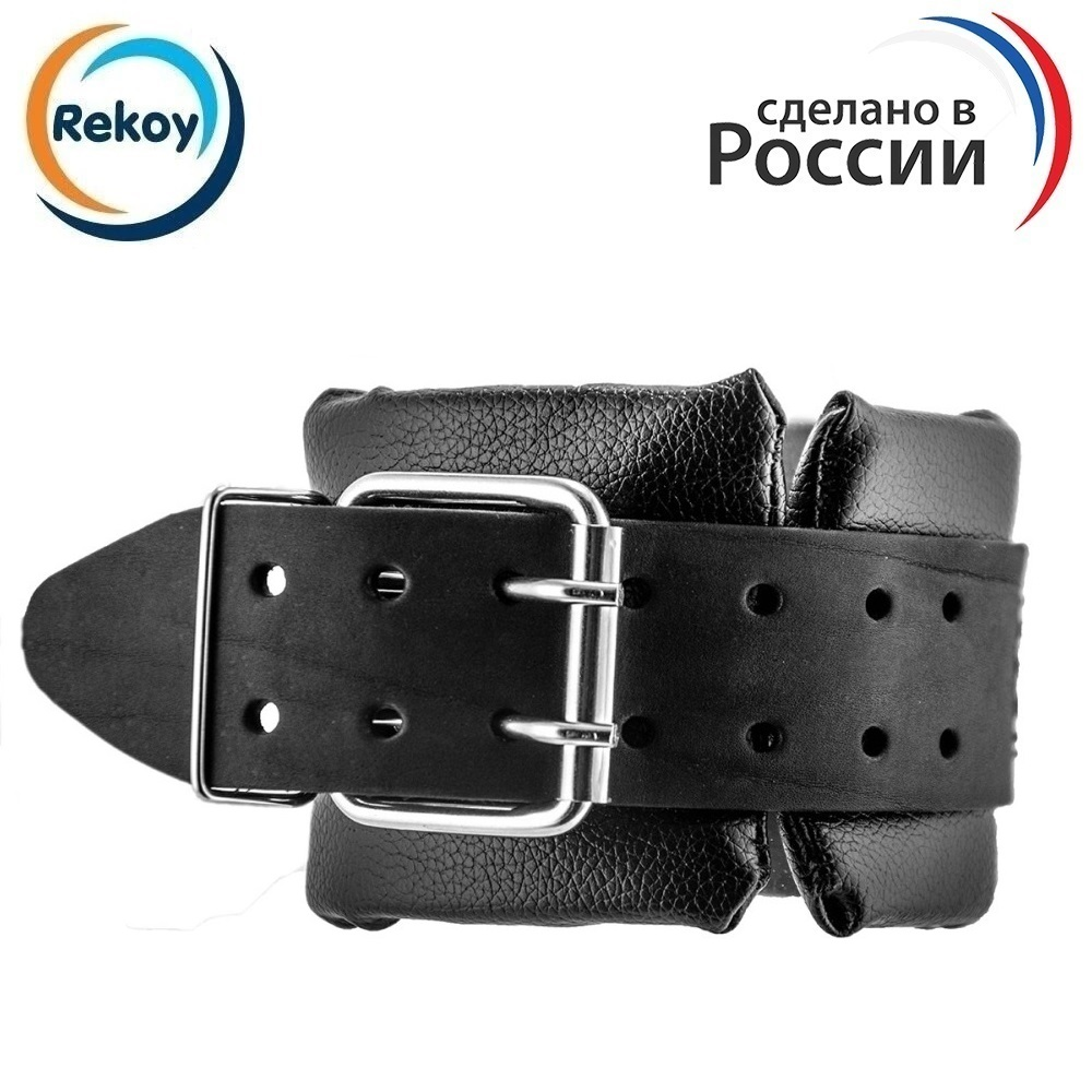 Аnkle gym strap ReKoy F157 (1 pcs) foot fym ankl support leg cuffs gym adjustable d-ring straps for fitness exercise for legs hi