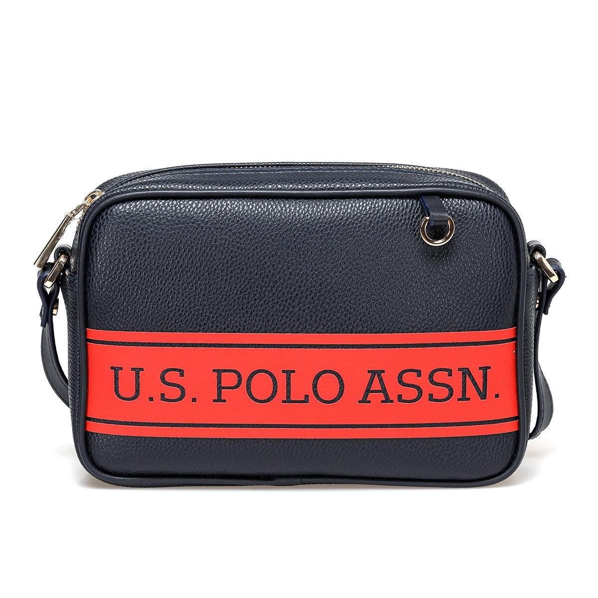 FLO US20266 White Women Messenger Bag U.S. POLO ASSN.