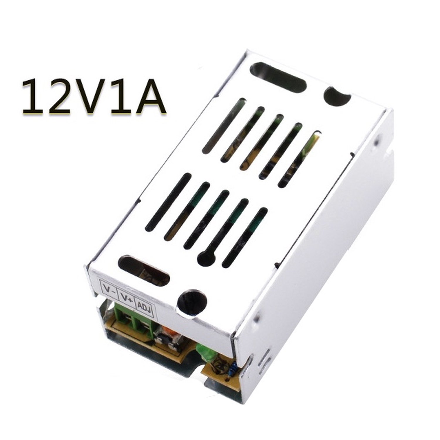 12v 1A Dc Universal Regulated Switching Power Supply 12W for CCTV, Radius, Computer Project, Led