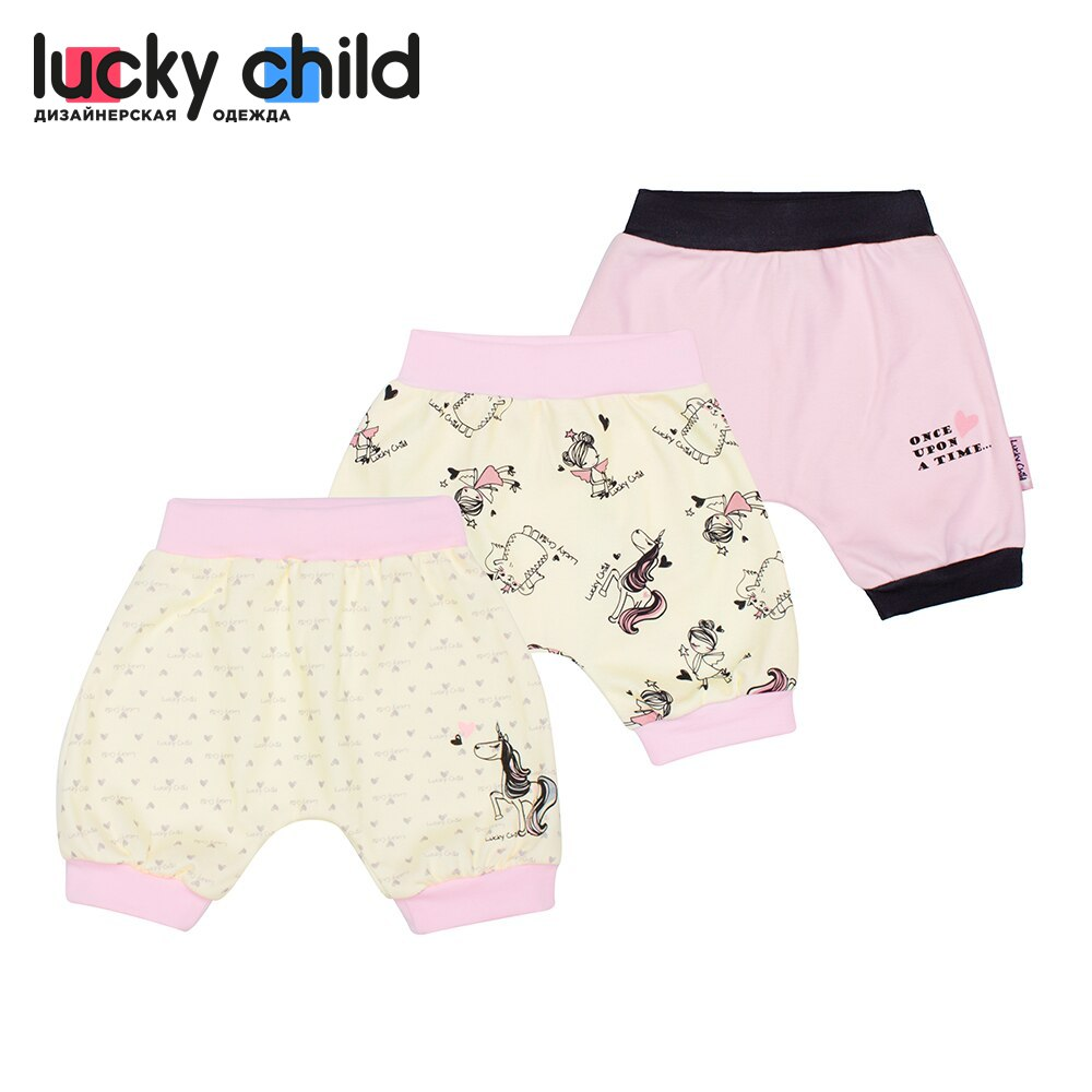Shorts Lucky Child for girls 30-190 (3M-24M) Harem pants Swimwear Children clothes [available with 10 11] swimming trunks swimwear for girls