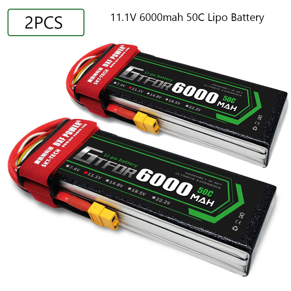 2S 3S 4S 5200mAh 6000mAh 7000MAH 7.4V 11.1V 14.8V 50C 60C 100C 120C GTFDR X-MAXX E-REVO Rc カーボート用ドローン