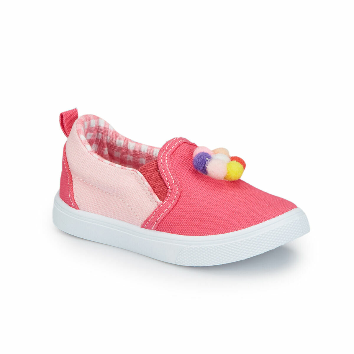 FLO 81.510337.B Fuchsia Girl Kids Slip On Shoes Polaris
