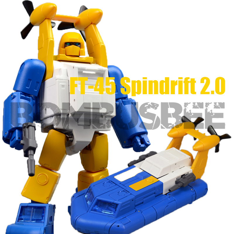 【In Stock】FansToys FT-45 FT45 Spindrift Seaspray Version 2,0 Action Figure 3rd Party Transformation Roboter Spielzeug Modell PVC Kunststoff