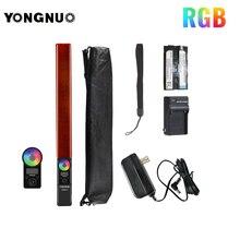 YONGNUO YN360 III YN360III LED الفيديو الضوئي تعمل باللمس ضبط مع جهاز التحكم عن بعد RGB درجة حرارة اللون 3200K 5500K قابل للتعديل