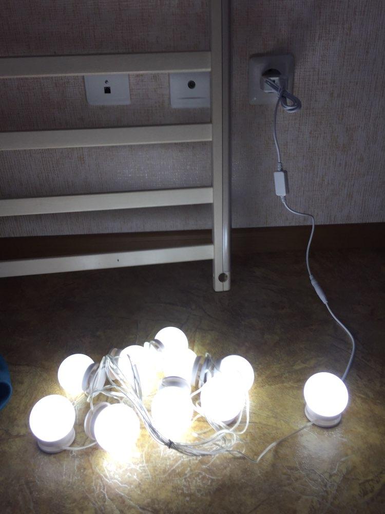 Luminárias de parede Espelhos Cosméticos Lâmpada