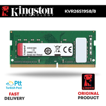 Kingston 2666Mhz 8Gb DDR4 Dizüstü Ram KVR26S19S8/8