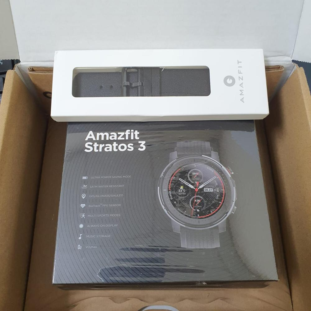 IN Stock Global Version New Amazfit Stratos 3 Smart Watch GPS 5ATM Bluetooth Music Dual Mode 14 Days Smartwatch For Xiaomi 2019|Smart Watches| |  - AliExpress