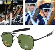 Hot High Quality Aviation Sunglasses Men Brand American Army
