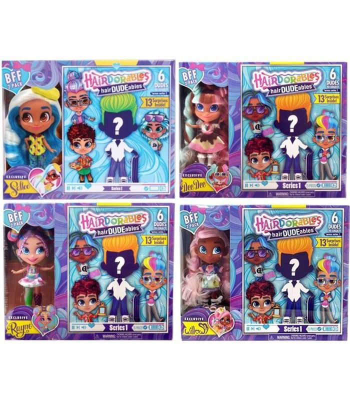 Hairdorables Hairdudables Bff Assorted Models Toy Store
