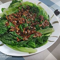 #百变鲜锋料理#鲍汁耗油蒜蓉生菜的做法图解15