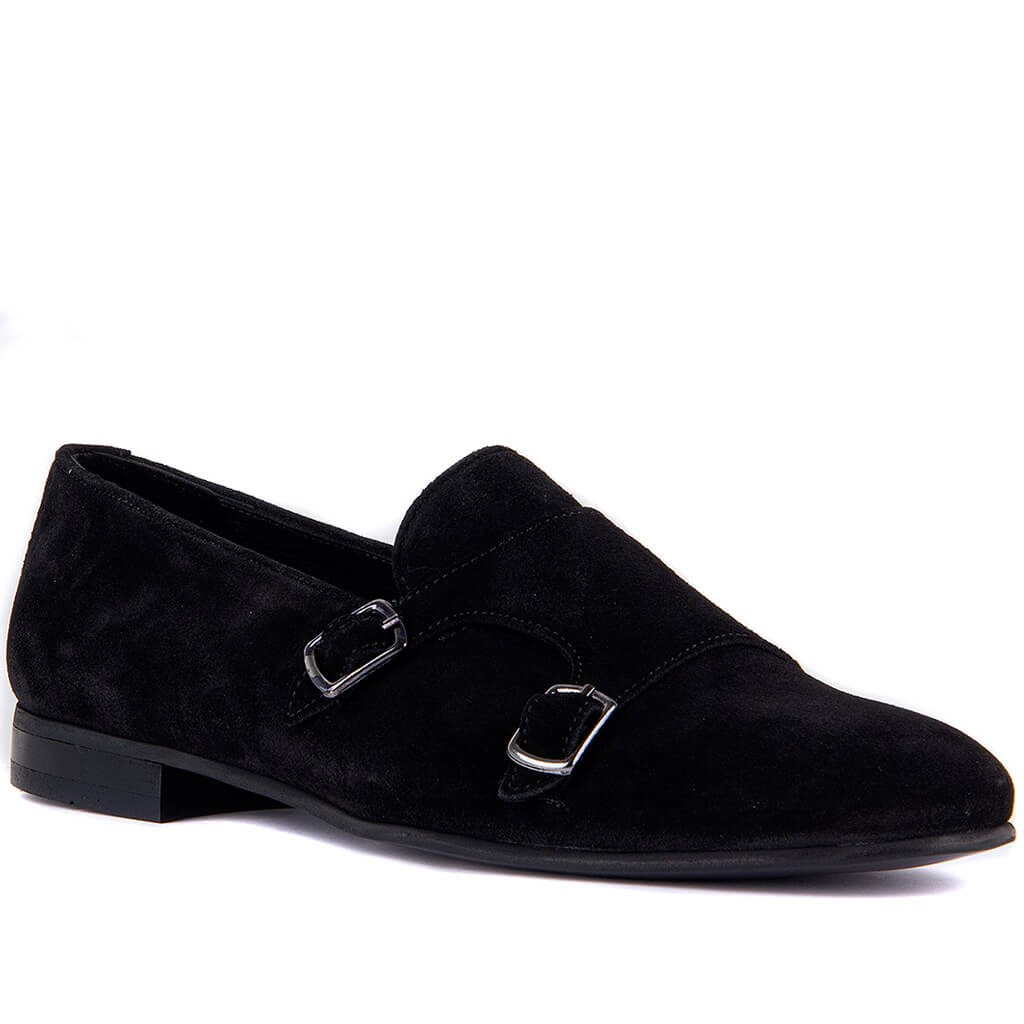 Sail-Lakers Black Men 'S Casual Suede Shoes