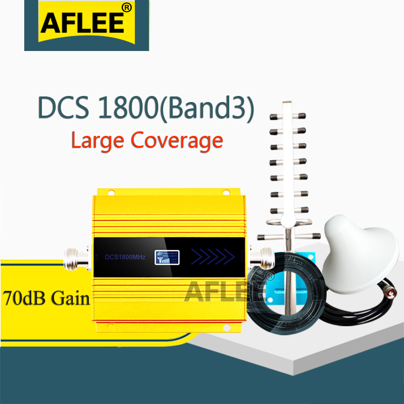 2020 New!!1800Mhz LTE GSM 4G Cellular Amplifier  DCS LTE 1800 4G NetWork Mobile Signal Booster Repeater Gsm 2g 3g 4g Booseter