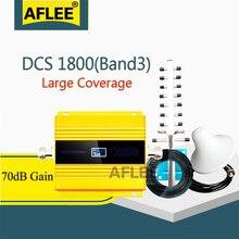 2020 novo!!1800mhz lte gsm 4g amplificador celular dcs lte 1800 4g rede móvel impulsionador de sinal repetidor gsm 2g 3g 4g booseter