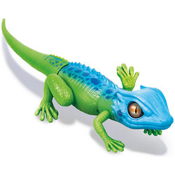 Interactive toy Zuru Robo lizard, blue-green (motion
