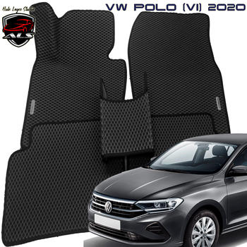 Eva prime car mats for VW Polo (VI) 2020 + Volkswagen Polo 2020  floor mat interior mats eva Eva mats eva material eva mats eva car mats car mats eva mats in car Footbridge for car mat Car carpet eva mats in the car lsrtw2017 leather car interior floor mats for volkswagen transporter 2016 2017 2018 2019 2020 t6 carpet rug styling vw