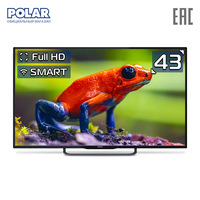 LED Television POLAR P43L21T2SCSM Consumer Electronics Home Audio Video Equipments Smart TV 4049InchTv