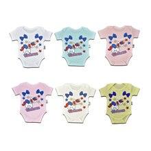 Новый стиль, боди для новорожденных, короткий рукав, хлопок, единорог, фигурка Badi 3-24 мес.