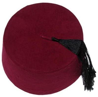 Authentic Ottoman Turkish Fez Fes Doctor Who Hat Tassel