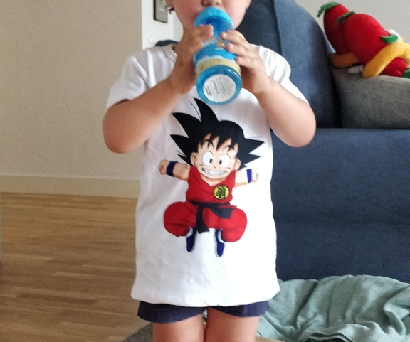 Cartoon Print Toddler Children T-shirts Kids Anime Summer Funny Tees Boys/Girls Tops Baby Clothing,HKP5072 photo review