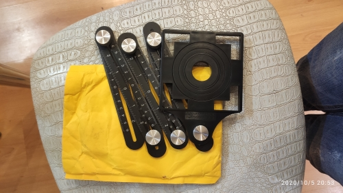 Six-Sided Aluminum Alloy Angle Measuring Tool - sunsetime photo review