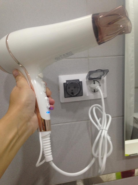 Hairdryer RIWA RC 7510-in Hair Dryers from Home Appliances on AliExpress