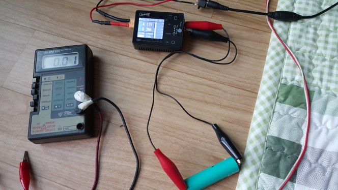 -- Battery Charger Balance