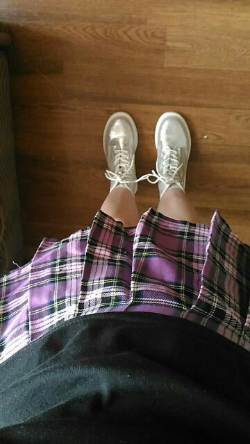 School Mini Women'S Skirt Plaid Pleated High Waist Plus Size Skirts Womens Faldas Mujer Moda Jupe Femme Spodnica photo review