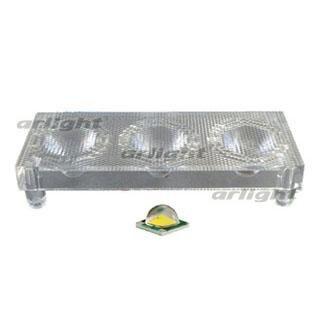 012021 Lens Unit 3lb30d (30deg, 3x Led) Arlight 1-piece