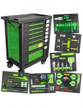 JBM 53577 TOOL CART SPECIAL PLATER GREEN Hand Tool Sets     -