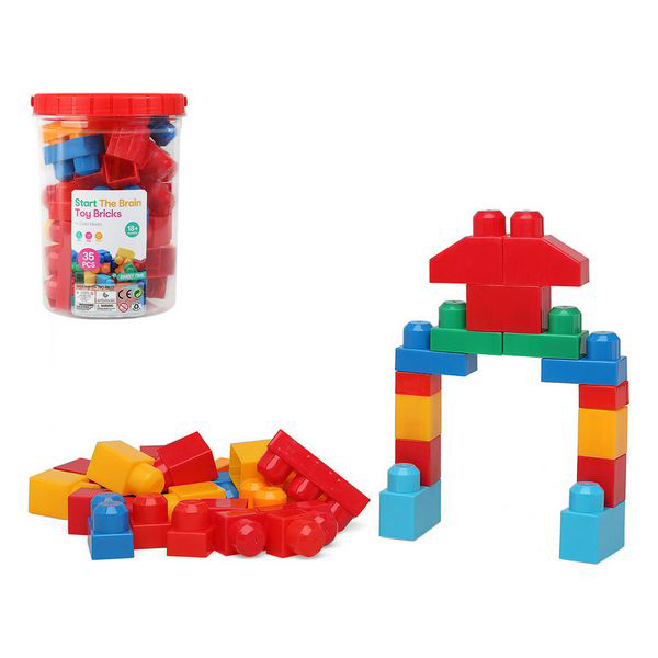 Boat With Building Blocks 114621 (35 Pcs)