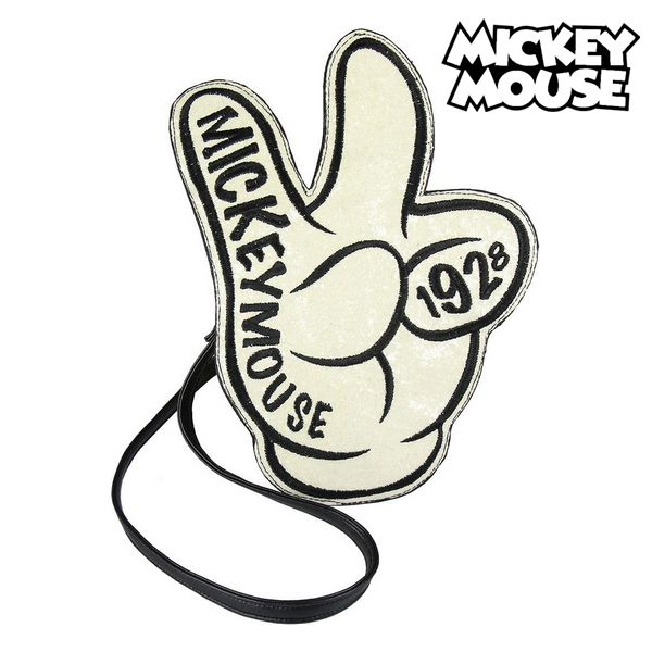 Shoulder Bag Mickey Mouse 72810 White