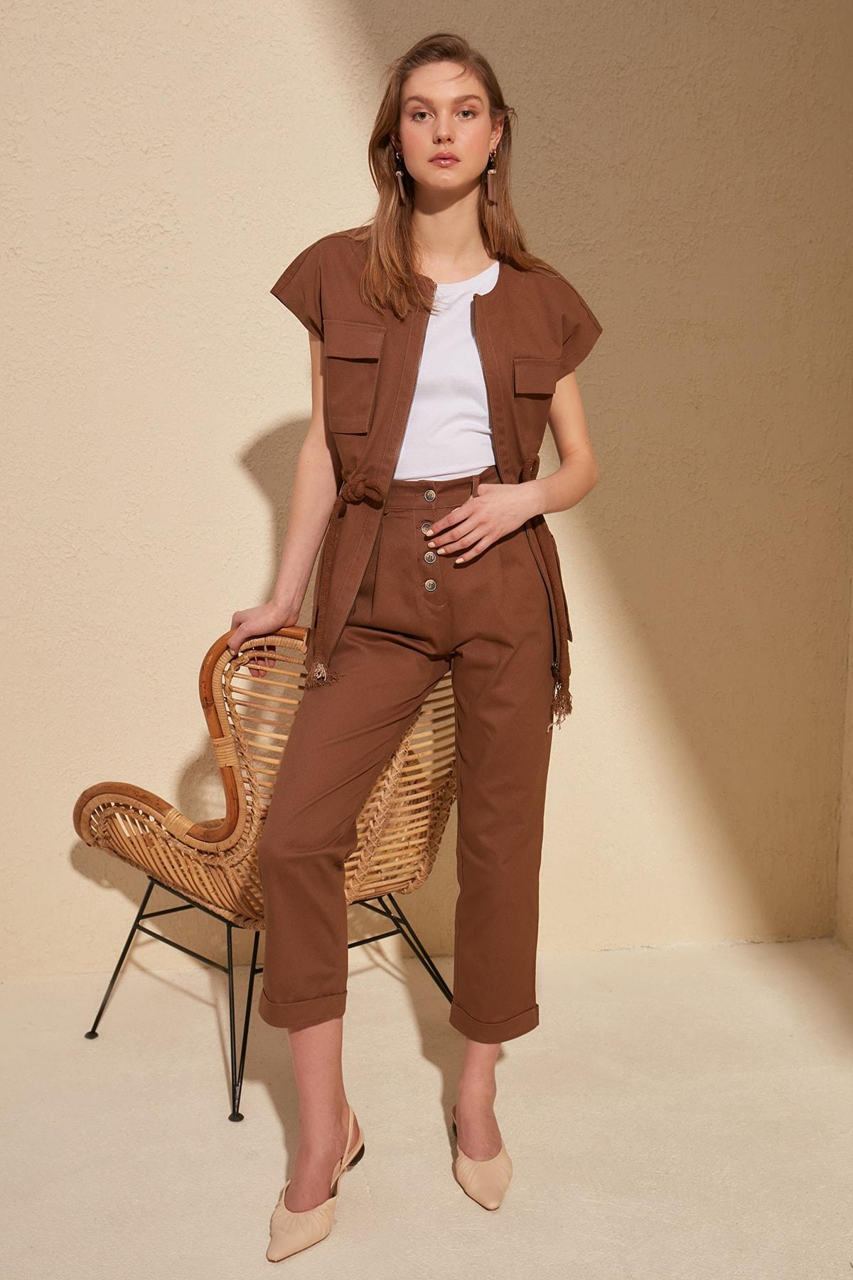 Trendyol Baggy Pants TWOSS20PL0015