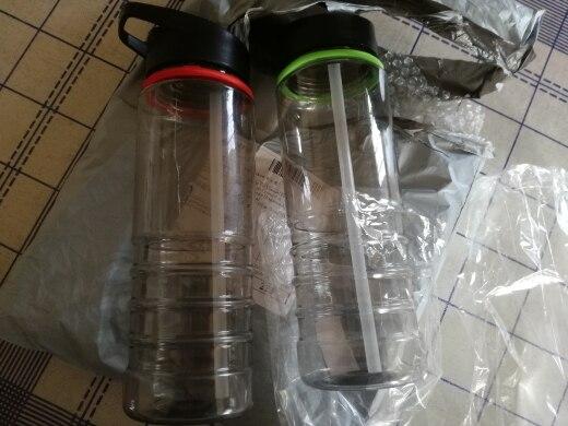 Flip Tritan Straw Drinks Sport Gym Hydration Water Bottle Bike Bicycle Cycling Hiking Caming RandomColor|Water Bottles|   - AliExpress