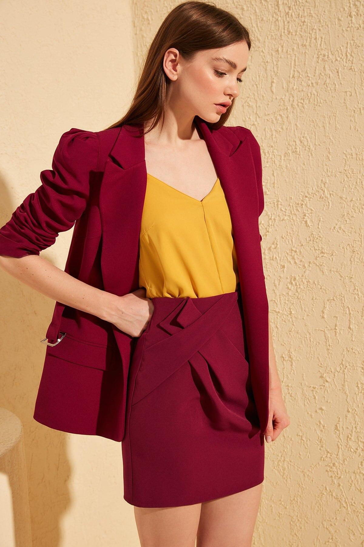 Trendyol Polka Dot Skirt TWOSS20ET0028