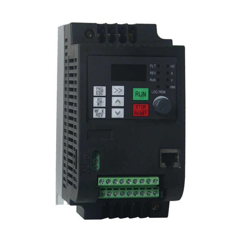 محول تردد متغير 50Hz/60Hz عاكس السيارات Wk310 VFD 1.5kw مرحلة واحدة 220 فولت المدخلات ثلاث مراحل 220 الإخراج