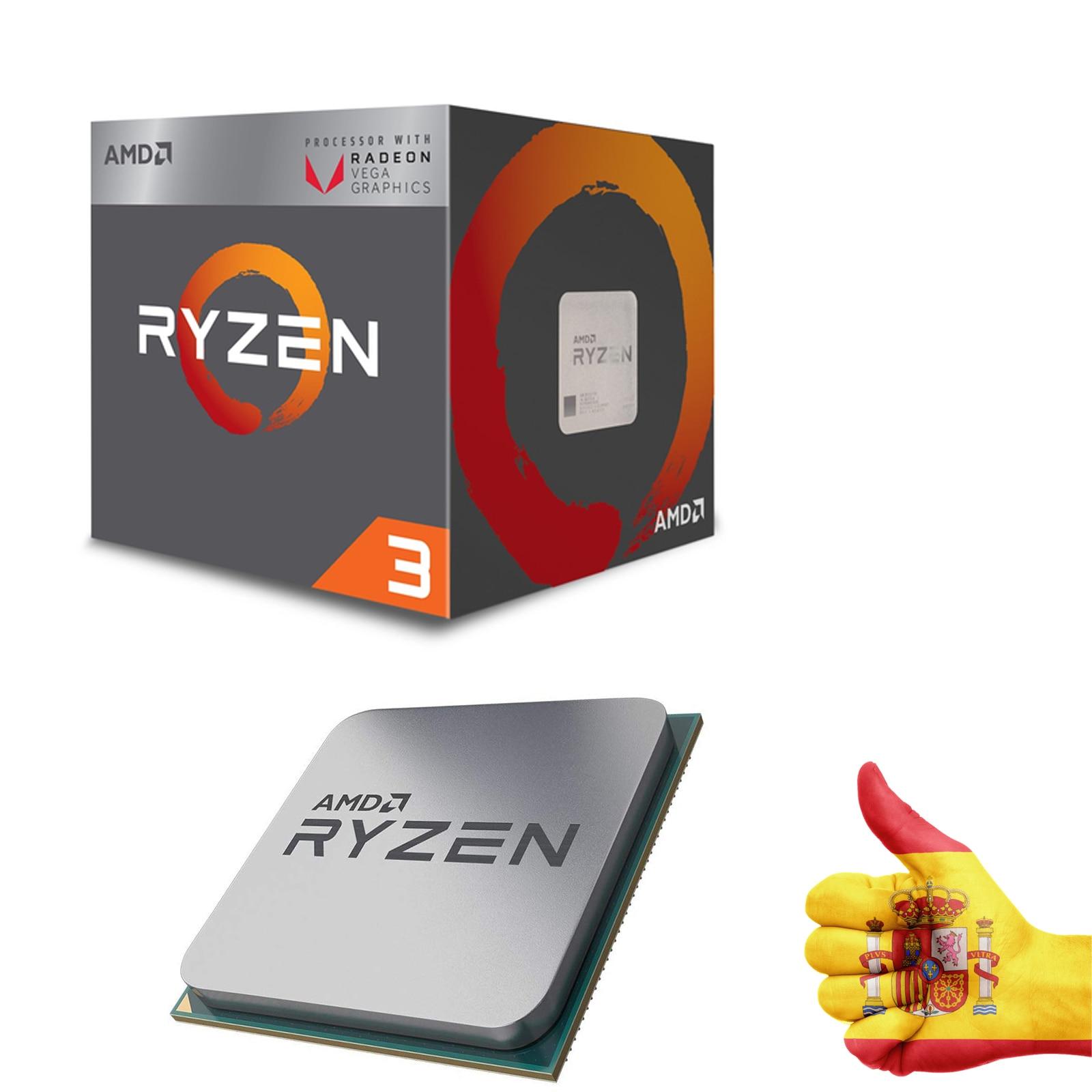 Procesador-AMD-Ryzen-3-Raven-Ridge-2200G-3-5-GHz-2MB-L2-ENVIO-GRATIS M