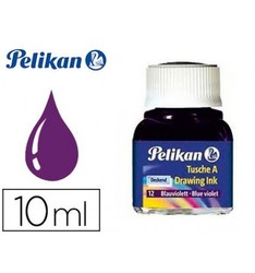 CHINESE INK PELIKAN VIOLET N12 FLASK 10 ML 10 Pcs