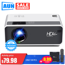 AUN LED HD Projector D60 | 1280x720P Resolution | Support 3D video Beamer, Home
