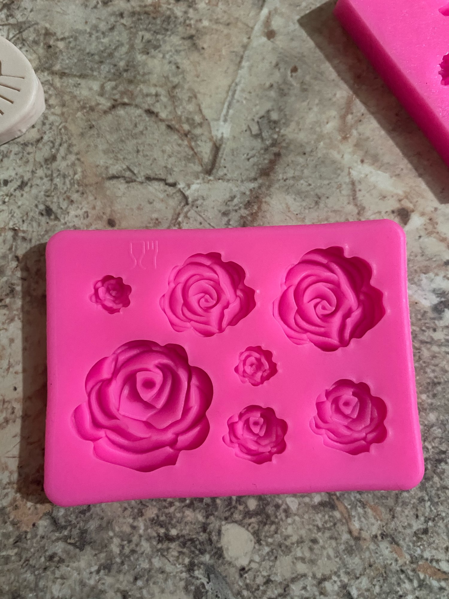 Rose Flower Petal Silicone Garden Roses photo review