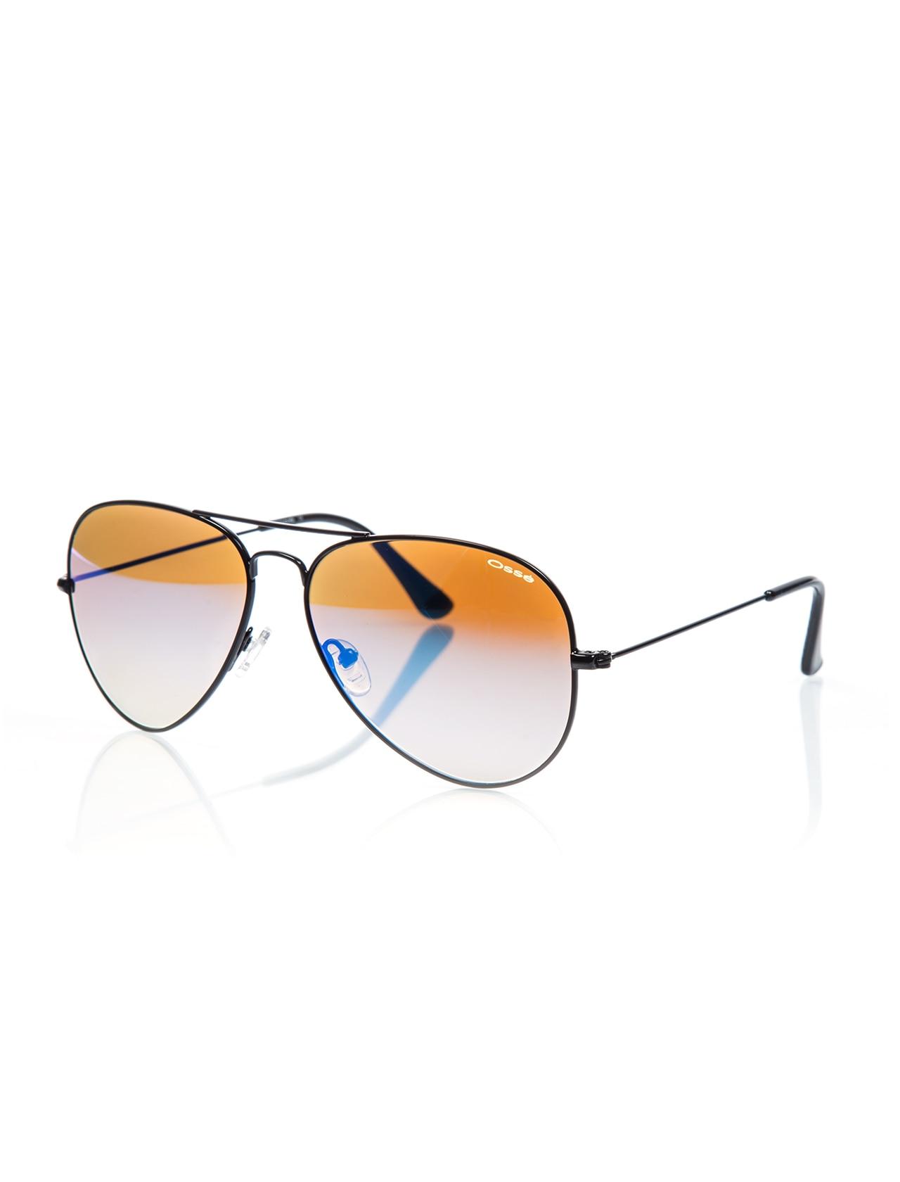 Unisex sunglasses os 2183 12 metal black crystal drop pilot 58-14-135 osse
