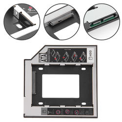 12,7 мм 2nd HDD Caddy Алюминий Optibay SATA 3,0 жесткий диск Корпус dvd-адаптер 2,5 SSD 2 ТБ для ноутбука CD-ROM